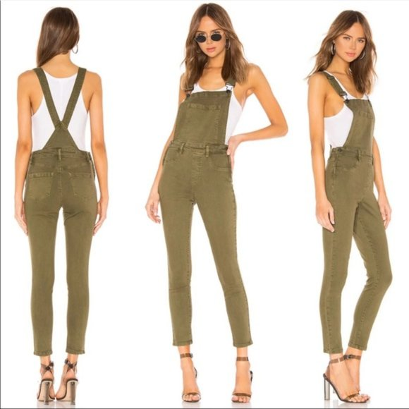 BLANKNYC Skinny Fitted Overalls Apple Jack 31